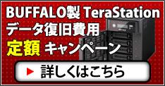 TeraStation 復旧費定額キャンペーン